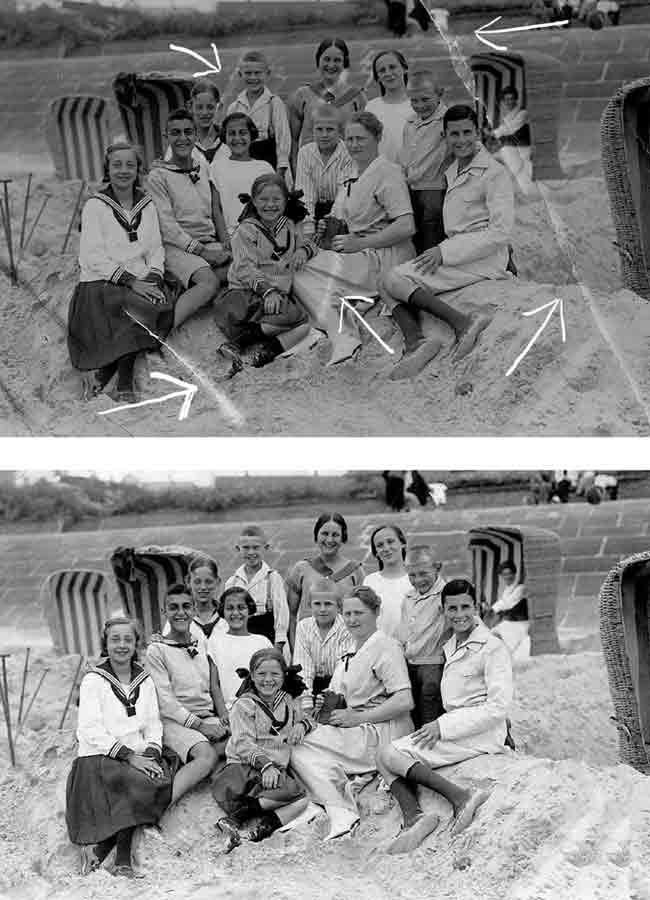 Retusche und Restauration von Foto Rensen